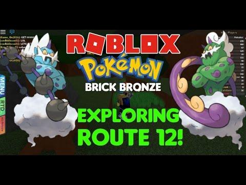 EXPLORING ROUTE 12! FINDING LEGENDS! Pokemon Brick Bronze - MKmonsters