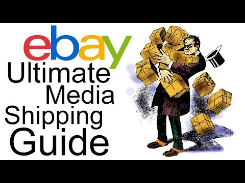 Ultimate eBay Media Mail Shipping How To Guide