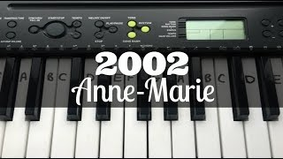 Download lagu 2002 - Anne-Marie | Easy Keyboard Tutorial With Notes