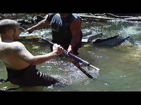 gold mining with stingray