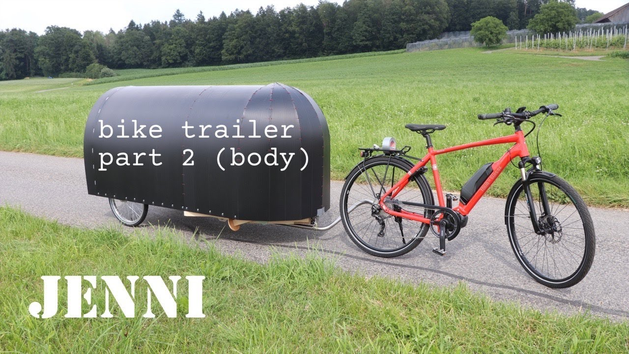Bike Camper Part 2 Body Youtube