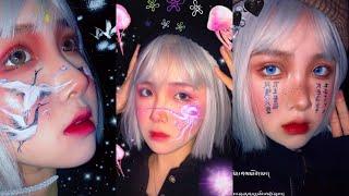 Phong cách makeup độc đáo 化妆| 妆容 tiktok trung quốc  抖音