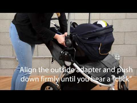 How-To:  Install and Remove Nuna Car Seat on Bumbleride Indie Twin Stroller