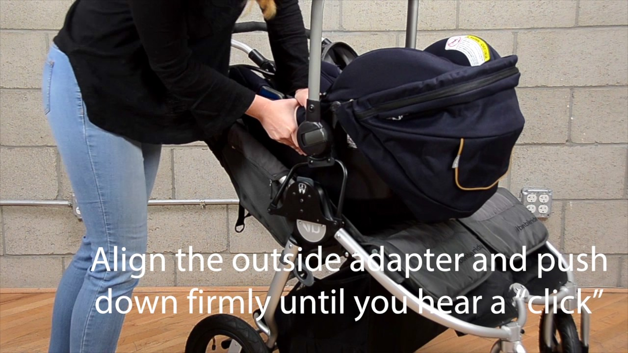 How To Install And Remove Nuna Car Seat On Bumbleride Indie Twin Stroller
