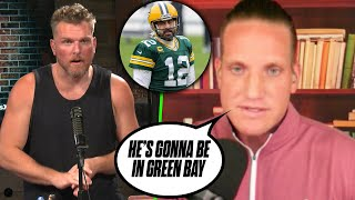 AJ Hawk Says Aaron Rodgers Will Play in The NFL This Season