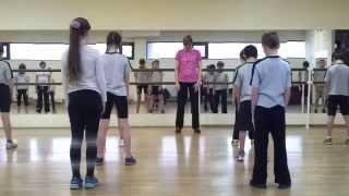 Открытый урок по ритмике в школе 1414