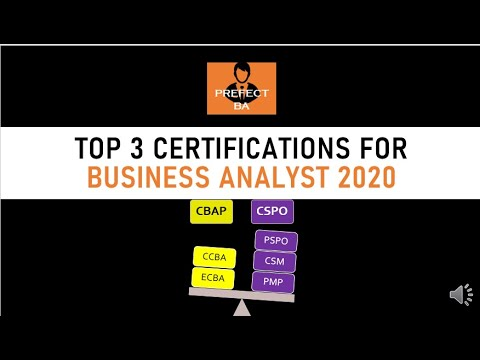 Business Analyst Certifications 2020 | Business Analyst Interview Questions And Answers