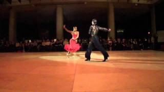 BU Dancesport Competition - Valentin Chmerkovskiy & Daria Chesnokova - Samba