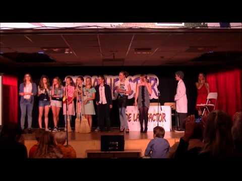 Musical De Lachfactor 2014 PWA Nkerk ad IJssel groep 8A