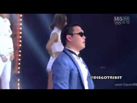 Scatnam Style = Gangnam Style + Scatman (Ski-Ba-Bop-Ba-Dop-Bop)