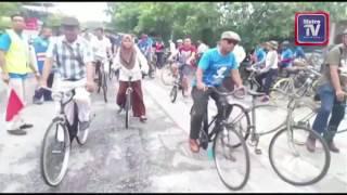 Kayuhan basikal klasik meriah