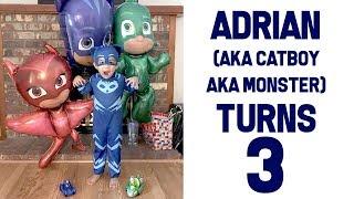 Adrian's 3rd Birthday | Family Vlog | April's Beautiful Mess