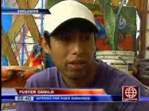 América Noticias-14.06.13-Internos de Castro Castro celebran el Día del Padre