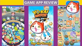 Yo-Kai Watch Wibble Wobble Overview and Review - Game App