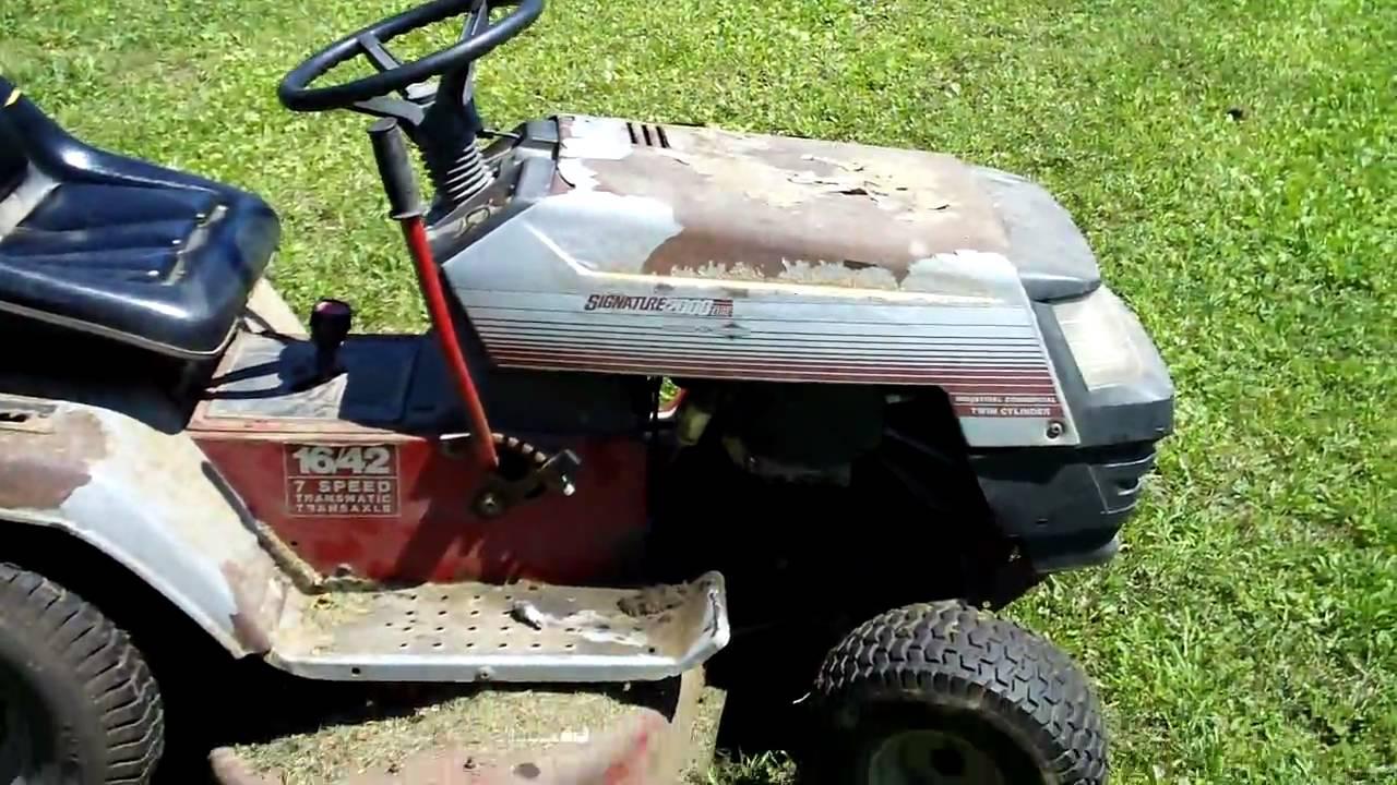 signature 2000 tractor engine failure youtube rh youtube com