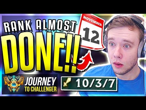RANKED IS ALMOST DONE IMUSTWIN - Journey To Challenger  League of Legends