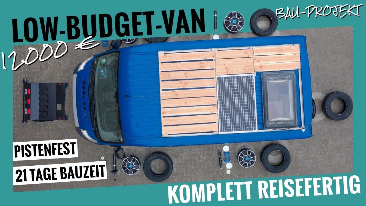 Download Ein pistenfester Campervan für 12.000 Euro? So funktioniert Low-Budget!