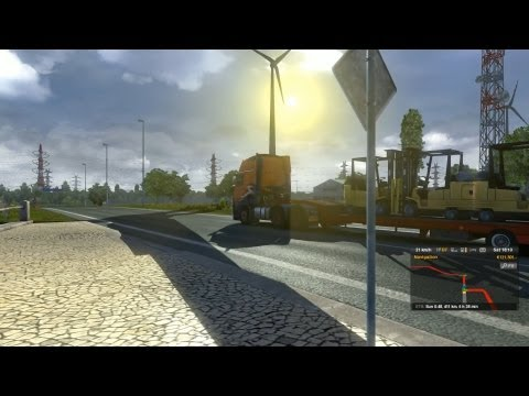Euro Truck Simulator 2 - Urgent Delivery to Bremen Gameplay HD
