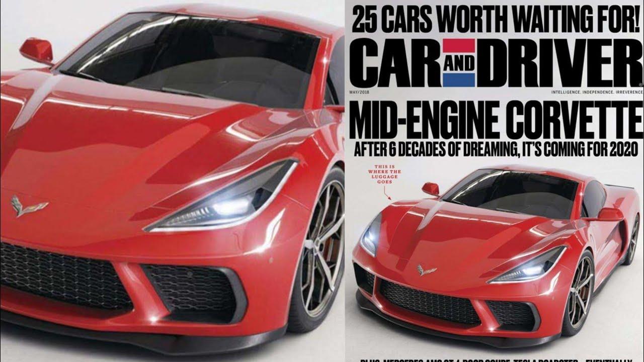 Leaked C8 Mid Engine Corvette Details April 2018