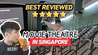 We went to the BEST REVIEWED MOVIE THEATRE in Singapore (OMG SO COOL!)