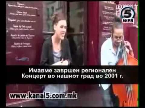 Интервју со Заз (Изабел Жефрој)- Концерт во Скопје 28 Мај