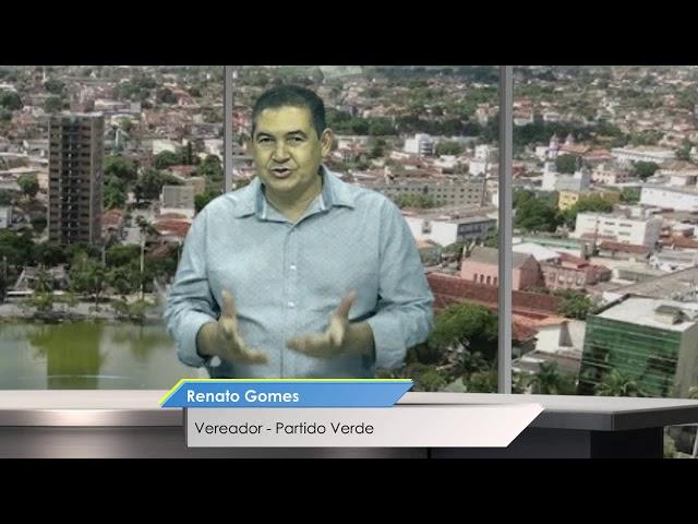 Santiago Entrevista - Vereador Renato Gomes