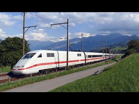 Züge in der Schweiz - Deutsche Bahn DB ICE1