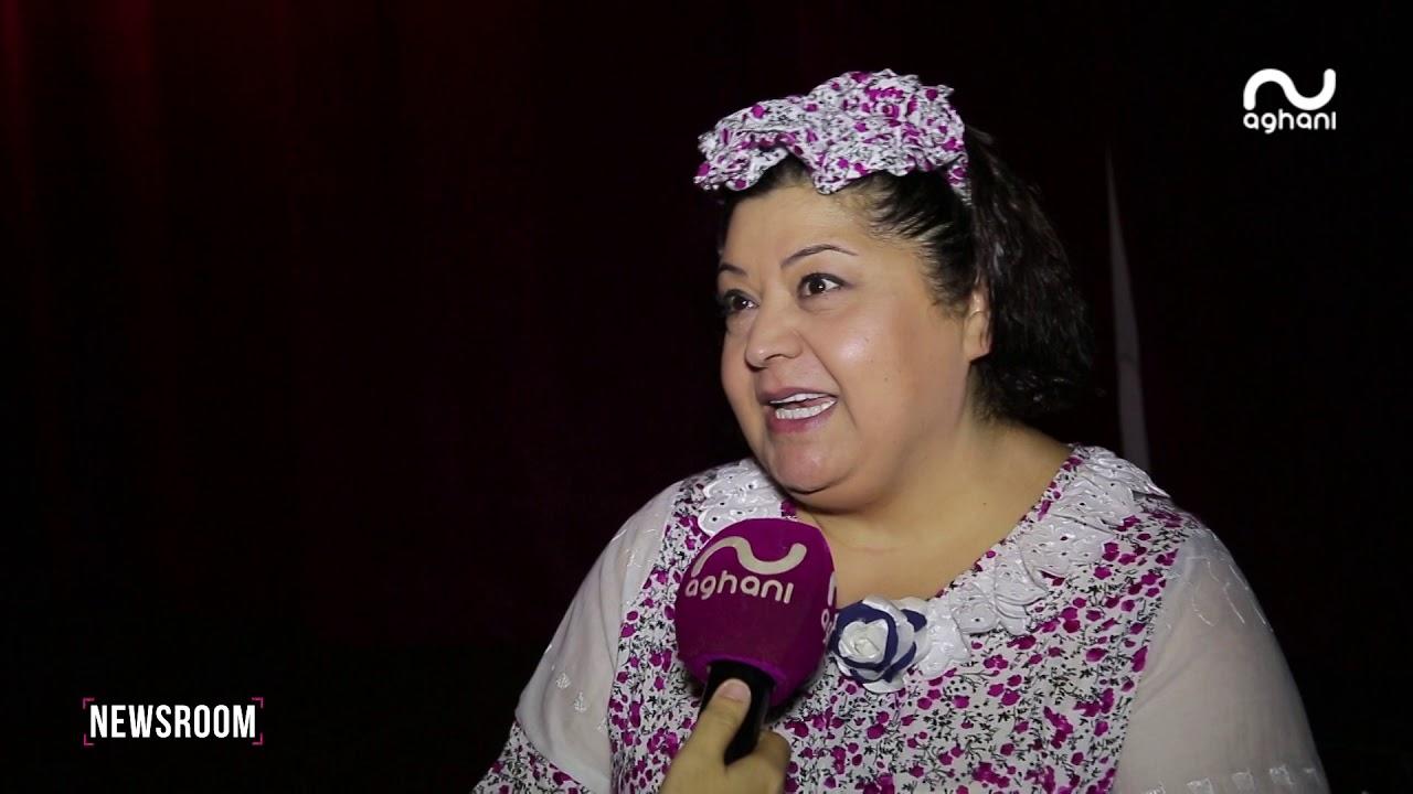 ليليان نمري تتفاجأ باحتفالية عيد ميلادها على مسرح