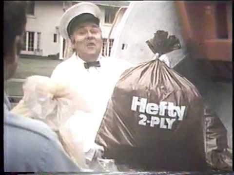 Jonathan Winters 1970 S Hefty Trash Bag Commercial