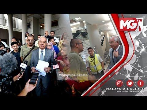 TERKINI : 'Saya Terima Kemaafan Saudara Aizat' - Najib Razak