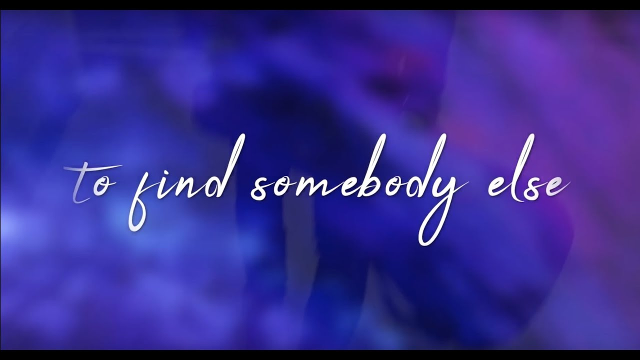Secondhand Serenade - Find Somebody Else (Lyric Video)