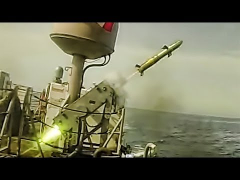 Griffin Missile Launch - Target Destroyed