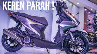 Review 12 Warna Honda All New Beat 2020 | VERSI CUSTOM BIKIN PUSING😱😱