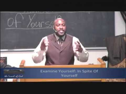 "IOG Memphis - ""Examine Yourself: In Spite Of Yourself"""