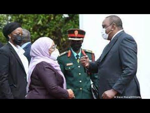 LIVE: President Uhuru and Samia Suluhu on Bilateral ties