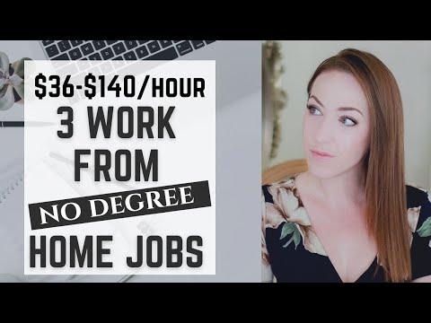 3 Work From Home Jobs with No Degree Needed that Pay Well