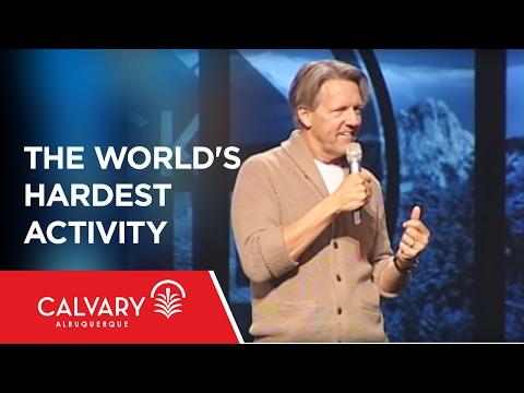 The World's Hardest Activity - 1 Peter 2:13-17 - Skip Heitzig