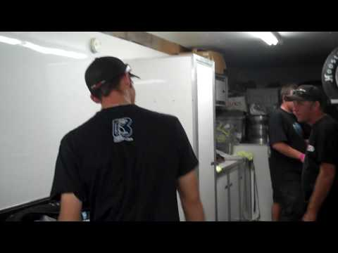 Bryan and Tim Clauson after Bloomington feature Ju...