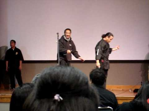 "Eskabo ""protect ya neck"" at UPSS, SFSU"