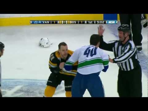 Bruins-Canucks brawl + more 1/7/12