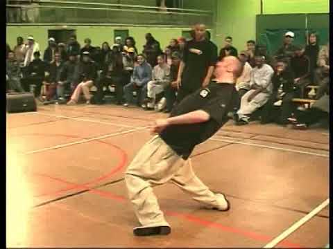 Juste Debout 2002 - Popping final - Gator & Original Mat vs Fish de Compo & Stéphane