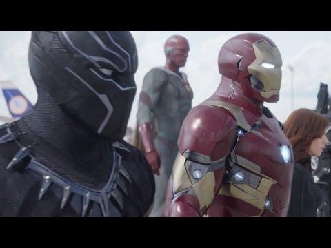 Captain America 3: Civil War - official Super Bowl spot 2016 Chris Evans