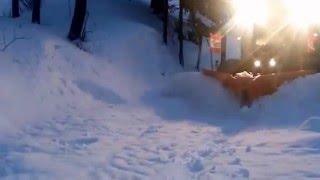 FENDT 516 & WINTEC XT 340 snow plowing (PLUŽENJE)