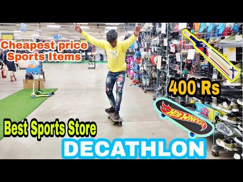 BEST SPORTS STORE IN RAIPUR   DECATHLON VLOG  Cheapest Price Sports Items   RAGHAV ERA  