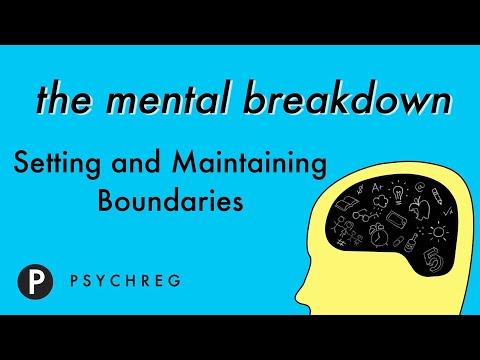Setting and Maintaining Boundaries