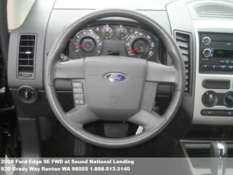 2008 Ford Edge SE FWD, $18471 at Sound National Lending in Renton, WA
