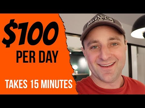 Simple 1 Page Website Makes $100 a Day with Affiliate Marketing