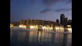 Музыкальные фонтаны в Дубаи