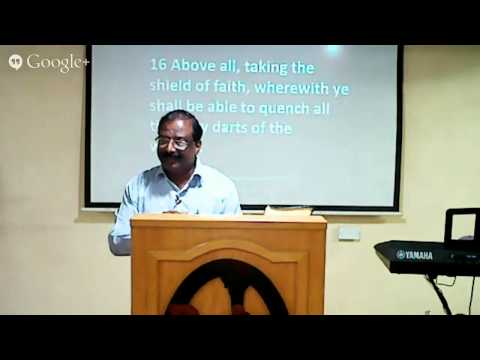 Pastor Abraham at Hall of Life 01-08-2014
