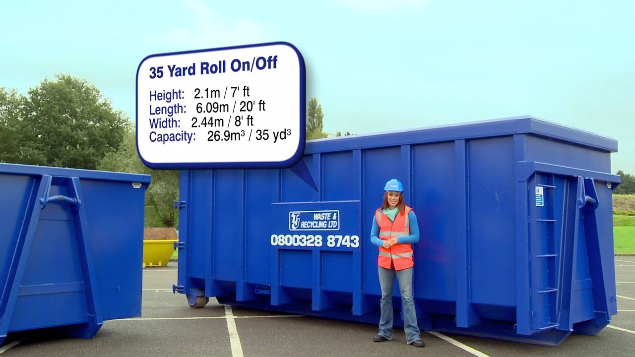 Skip Hire Info 35 Cubic Yard Roll On Off Roro